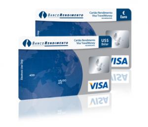 Levar dinheiro ao exterior com Cartão Visa Travel Money da Cotação