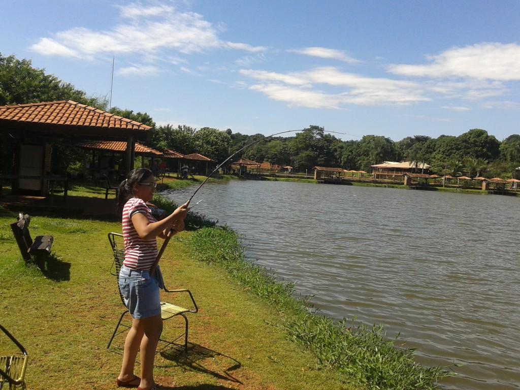 Peixe fisgado em pesqueiro - Dicas de pescaria