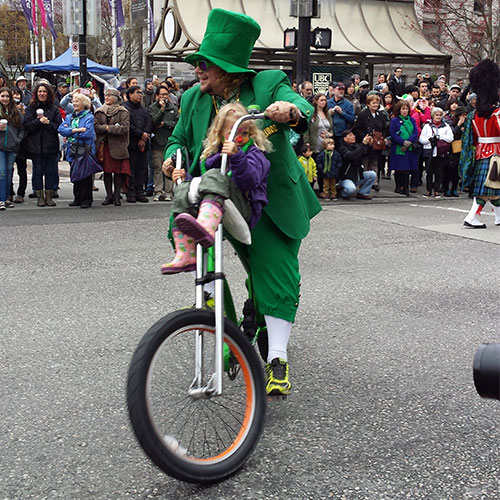 St Patrick's Day Parade Vancouver-BC Canadá.
