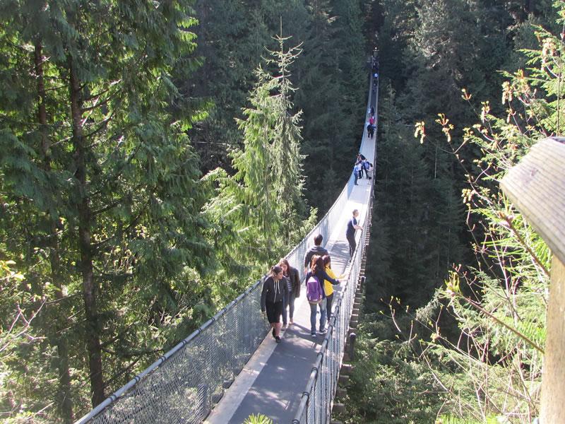 Capilano Suspension Bridge - North Vancouver - British Columbia - Canadá
