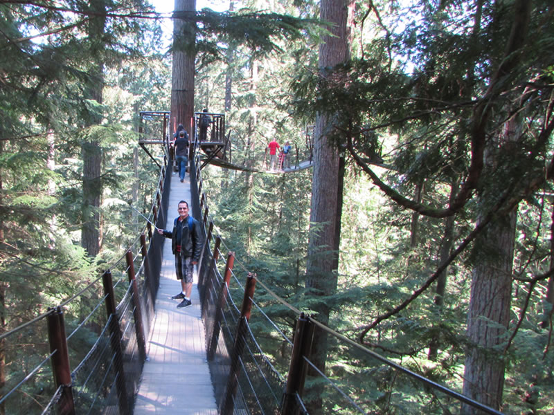 TreeTops - Capilano Suspension Bridge